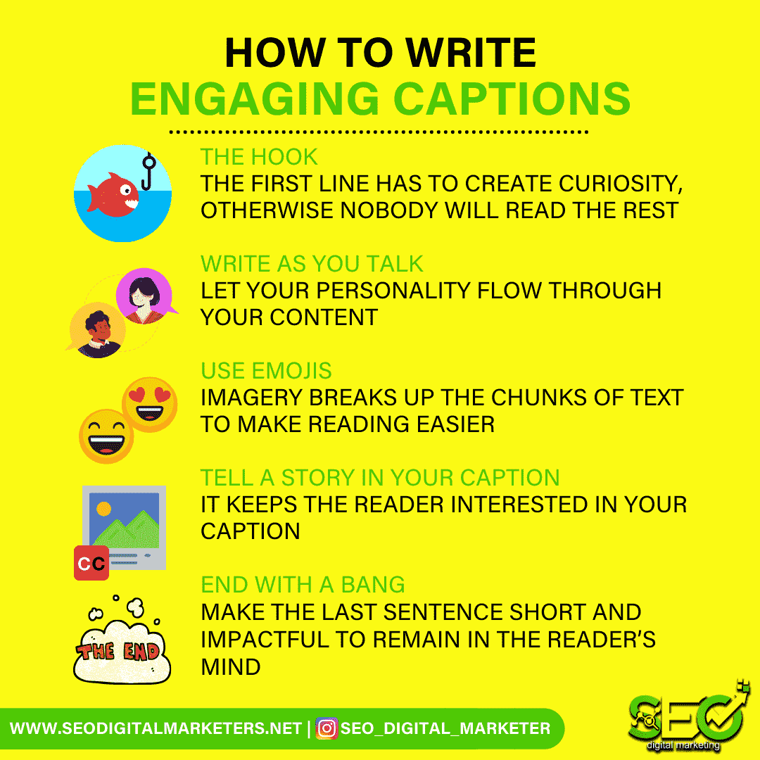 How to Write Engaging Captions